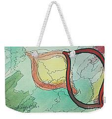 Shadow Yud Weekender Tote Bag
