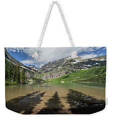 Shadows Weekender Tote Bag by Alpha Wanderlust