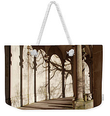 Weekender Tote Bag featuring the photograph Shadows And Curves by Richard Bryce and Family