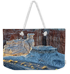 Shadows At Coal Mine Canyon Weekender Tote Bag by Tom Kelly