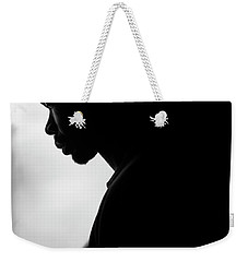 Weekender Tote Bag featuring the photograph Shadows by Eric Christopher Jackson