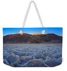 Shadows Fall Over Badwater Weekender Tote Bag