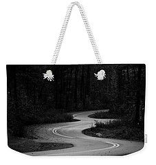 Weekender Tote Bag featuring the photograph Shadows In Monochrome by Parker Cunningham