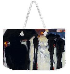 Shadows In The Rain Weekender Tote Bag