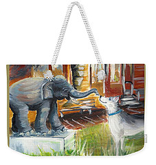 Shadows Of The Past , Hope For The Future Weekender Tote Bag