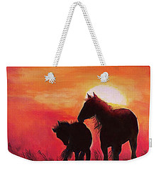 Shadows Of The Sun Weekender Tote Bag by Karen Kennedy Chatham