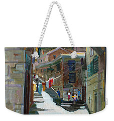 Shadows The Old Town Weekender Tote Bag