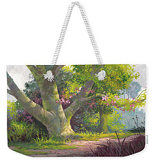 Shady Oasis Weekender Tote Bag by Michael Humphries