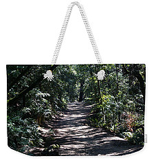 Shady Road On Mt Tamalpais Weekender Tote Bag