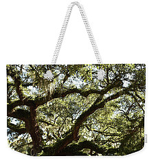 Shady Side Of Town Weekender Tote Bag by Skip Willits