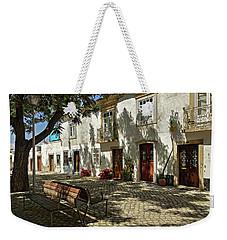 Shady Street In Tavira, Portugal Weekender Tote Bag