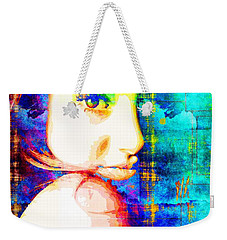 Shailene Woodley Weekender Tote Bag by Svelby Art
