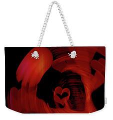Shaken Weekender Tote Bag
