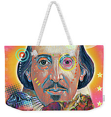Shakespeare Weekender Tote Bag by Gary Grayson