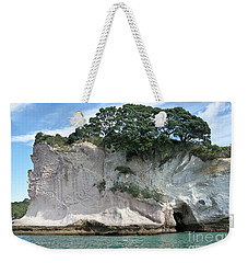 Shakespeare Rock, New Zealand Weekender Tote Bag by Yurix Sardinelly