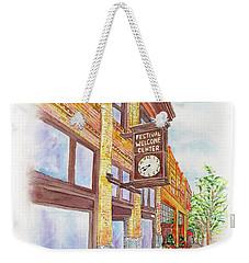 Shakespeare Time Weekender Tote Bag