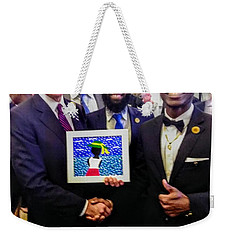 Shaking Hands With The President Weekender Tote Bag
