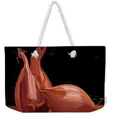 Shallots 01 Weekender Tote Bag by Wally Hampton