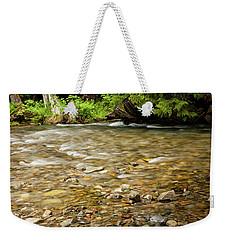 Shallow Creek Weekender Tote Bag
