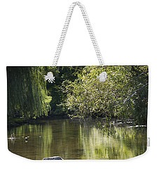 Weekender Tote Bag featuring the photograph Shallow River by Tara Lynn