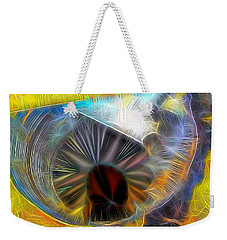 Weekender Tote Bag featuring the digital art Shallow Well by Ron Bissett