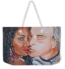Shalonda  And  Rainer - All You Need Is Love Weekender Tote Bag