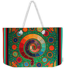 Shaman Serpent Ritual Weekender Tote Bag