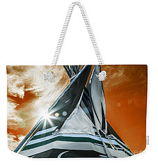 Shamans Tipi Weekender Tote Bag by Roselynne Broussard