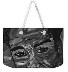 Shane In Black And White Weekender Tote Bag