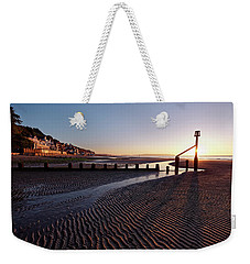 Shanklin Beach Weekender Tote Bag