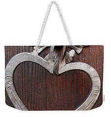 Weekender Tote Bag featuring the photograph Shape Of My Heart by Juergen Weiss