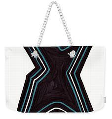 Shapely Weekender Tote Bag