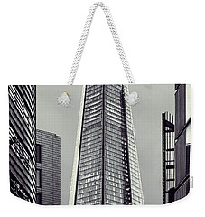 Shard Of Glass Weekender Tote Bag by Jasna Buncic