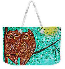 Shared Moonlight Weekender Tote Bag