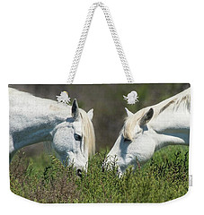 Sharing Weekender Tote Bag by CR Courson