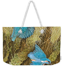 Sharing The Caring Weekender Tote Bag by Pat Scott