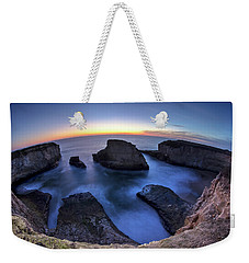 Shark Fin Cove Weekender Tote Bag