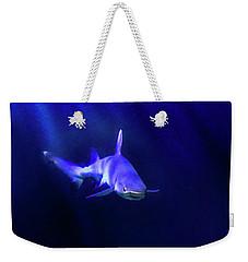 Weekender Tote Bag featuring the photograph Shark by Jill Battaglia