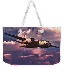 Shark On The Prowl Weekender Tote Bag