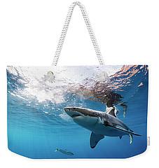 Shark Rays Weekender Tote Bag