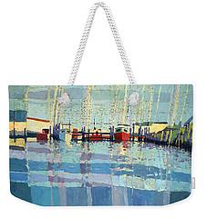 Shark River Inlet Weekender Tote Bag