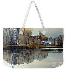 Shark River Reflections Weekender Tote Bag