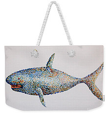 Shark Weekender Tote Bag by Tamyra Crossley