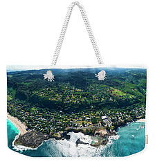 Sharks Cove Overview. Weekender Tote Bag