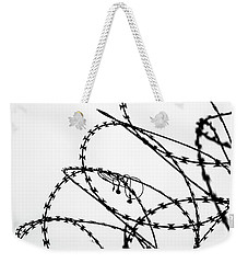 Weekender Tote Bag featuring the photograph Sharp Sound by Clare Bambers
