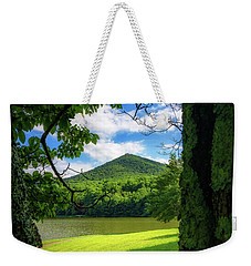 Sharp Top Through The Trees Weekender Tote Bag