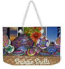 Sharpie Shells Still Life Weekender Tote Bag