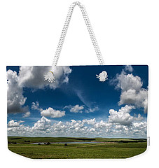 Sharps Creek Road Panorama Weekender Tote Bag