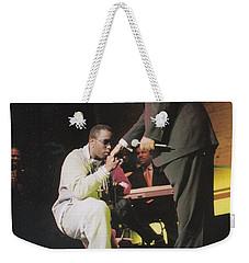 Sharpton 50th Birthday Weekender Tote Bag by Azim Thomas