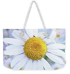 Shasta Daisy Weekender Tote Bag by Stephanie Frey